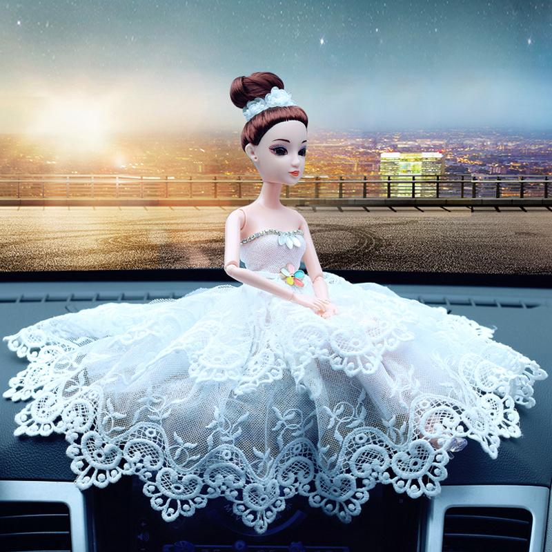head Arts Crafts Car accessories boutique wedding ornaments doll car ornaments accessories jewelry gift toys lovely girl art gi