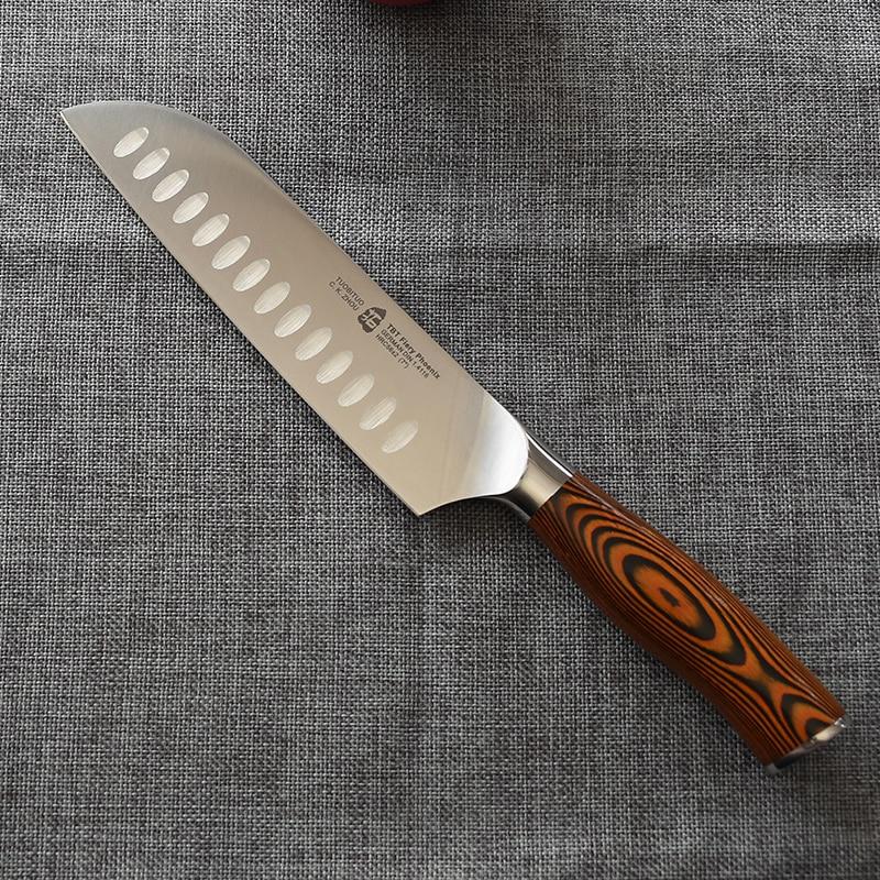 """Very Nice 7"""" Santoku Knife Japanese Style Chefs Knife"""