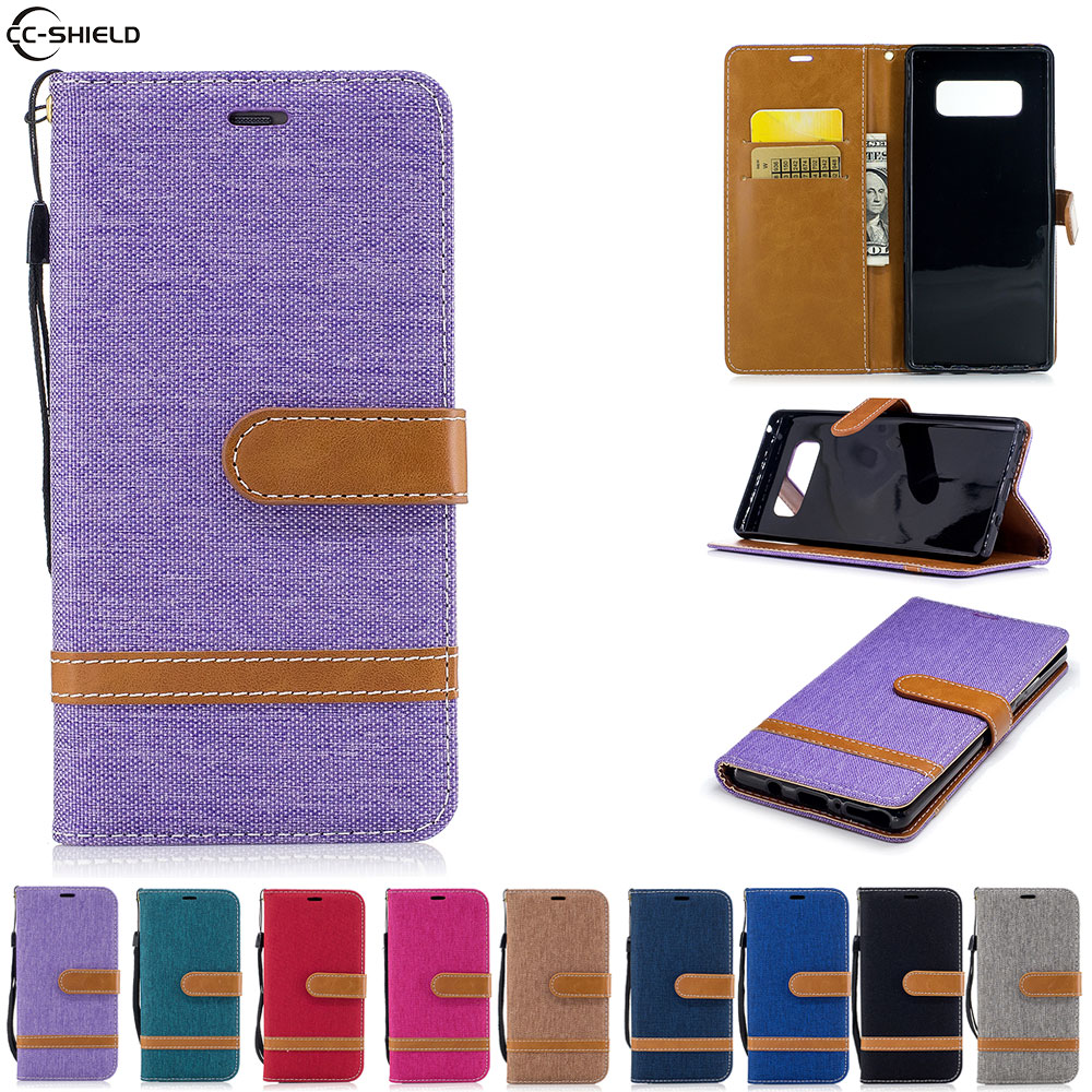 Flip Case For <font><b>Samsung</b></font> <font><b>Galaxy</b></font> <font><b>Note</b></font> <font><b>8</b></font> Note8 Case Phone Leather Cover SM-N9508 SM-N9500 SM-N950F SM-N950FD N950F N950U <font><b>N950N</b></font> N950W image