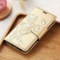 Мода Ретро Телефон Случаях Для Samsung Galaxy S7 Крышка Кожаный Бумажник Случай Блеск Алмазный Телефон Мешки Флип Коке Чехол Funda