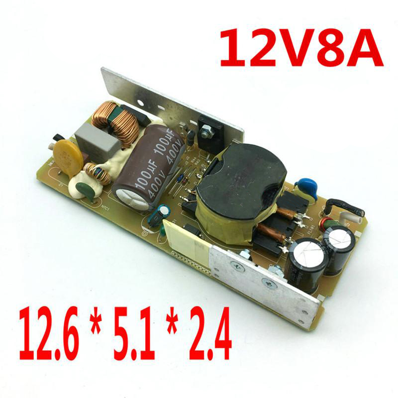 AC-DC 12V 8A Switching Power Supply Circuit Board Module For Monitor Built-in power plate 12V 90W bare board 110-240V 50/60HZ ac dc 12v 2a 24w switching power supply module bare circuit 100 240v to 12v board for replace repair