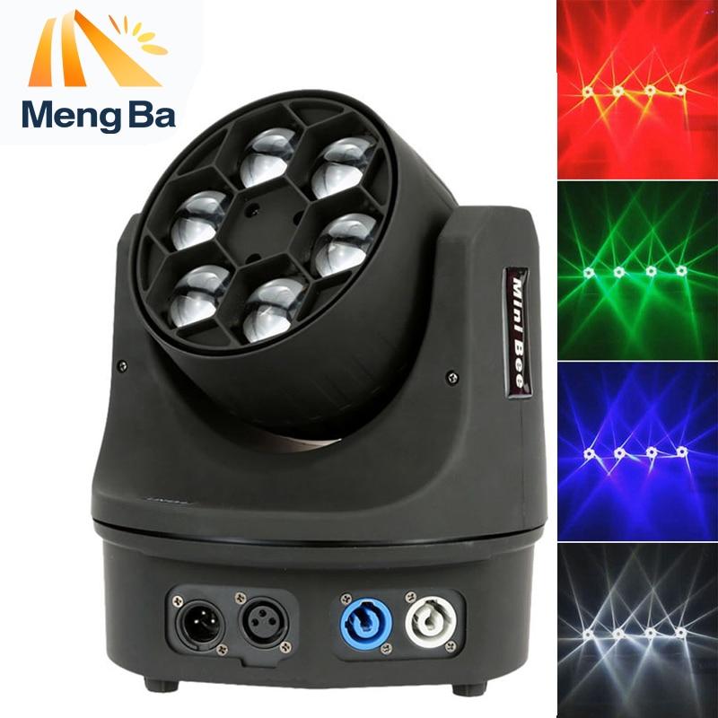 MengBa 6x15w RGBW 4-In-1 LED Mini Bee Eye Beam Light DMX512 LED Moving Head Light DJ/Fest/Home /Show /Bar/Stage /Party Light MengBa 6x15w RGBW 4-In-1 LED Mini Bee Eye Beam Light DMX512 LED Moving Head Light DJ/Fest/Home /Show /Bar/Stage /Party Light