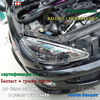 Hireno Car Styling Headlamp For 2004 2008 Peugeot 206 Headlight Assembly LED DRL Angel Lens Double