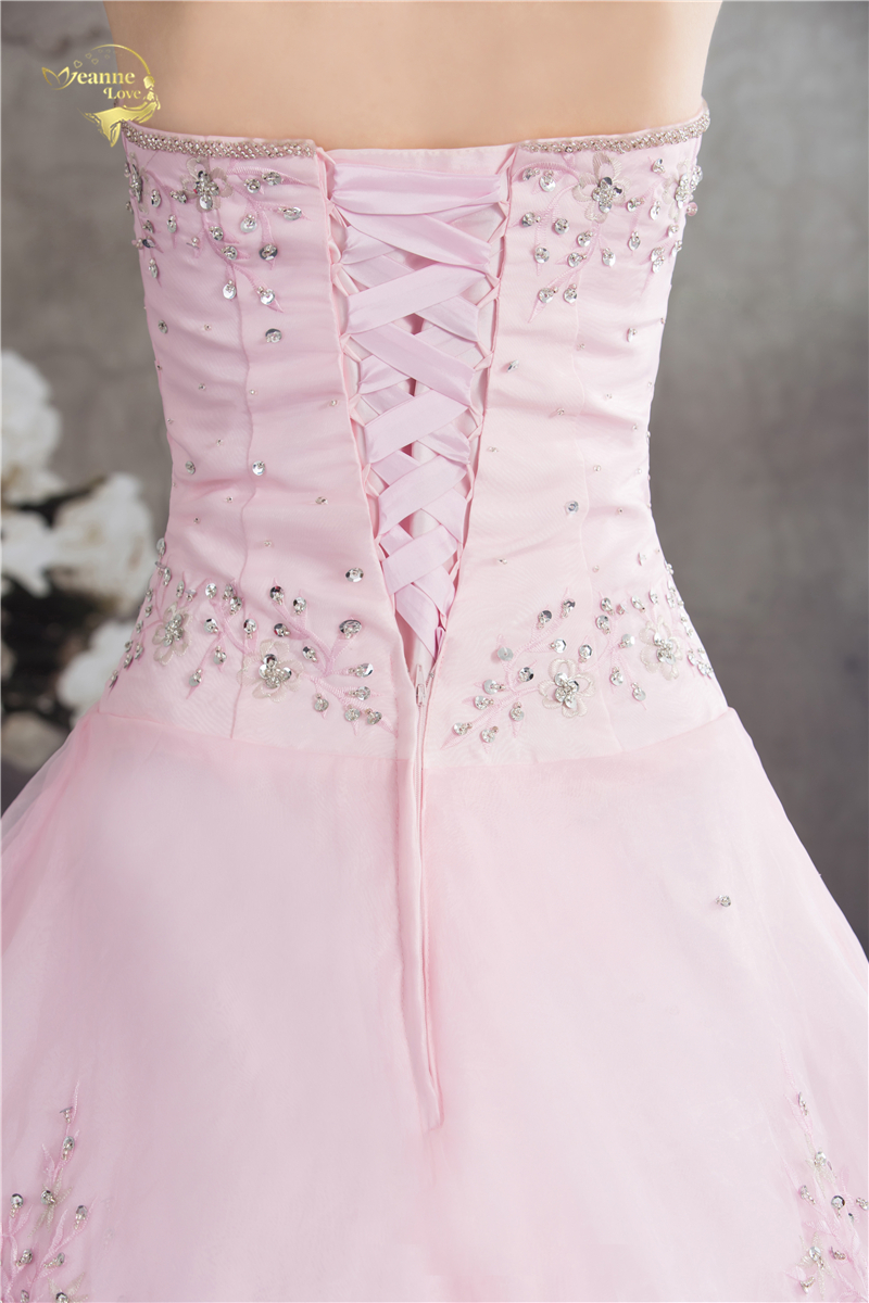 Vestido De Debutante Gaya Klasik Sweetheart Blue Pink A Line Sulaman - Gaun acara khas - Foto 6