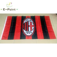 Italy AC Milan 3ft*5ft (90*150cm) Size Christmas Decorations for Home Flag Banner Type A Gifts