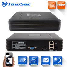 TinoSec Mini NVR Full HD 4 Channel 8 Channel Security Standalone CCTV NVR 1080P 4CH 8CH ONVIF 2.0 For IP Camera System 1080P