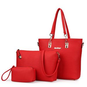 Image 5 - MIWIND 2020 New Female Shoulder Bags Fashion Women Bag High Quality PU Leather Womens Handbags 6 Piece Set Composite Bag