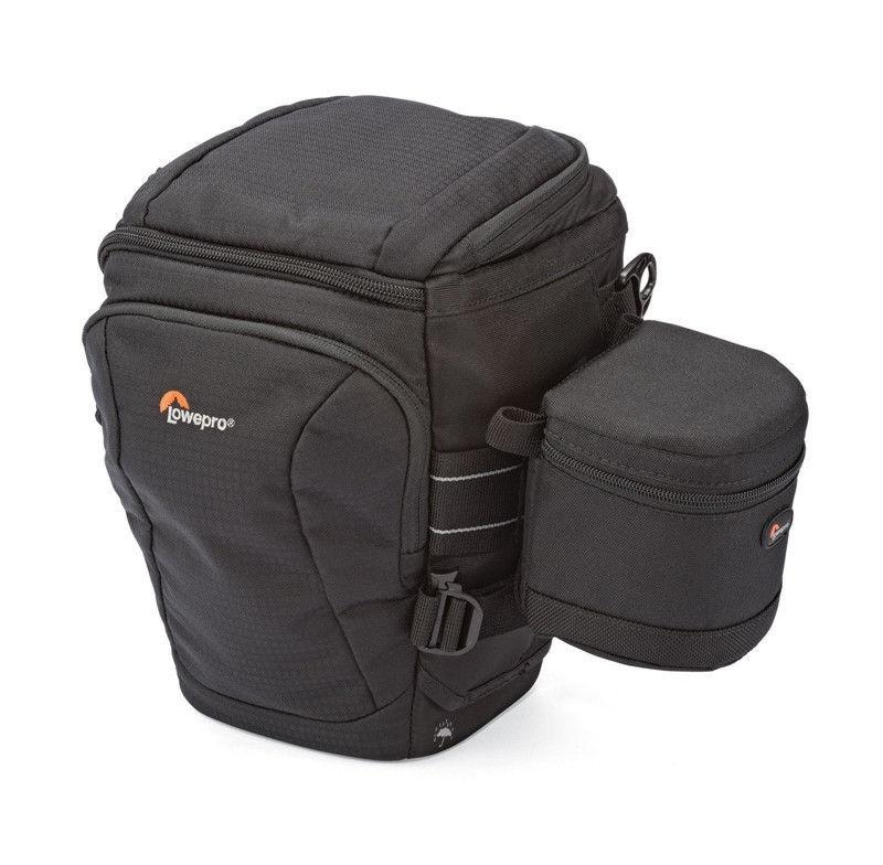 Lowepro Toploader Pro 70 AW II DSLR Camera Triangle Shoulder Bag Rain Cover Portable Waist Case