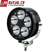 2 PCS 50W Motorcycle LED Headlight 6000LM XM-L2 U3 Motorbike LED Driving Spotlight Moto Fog Spot Head Light Lamp