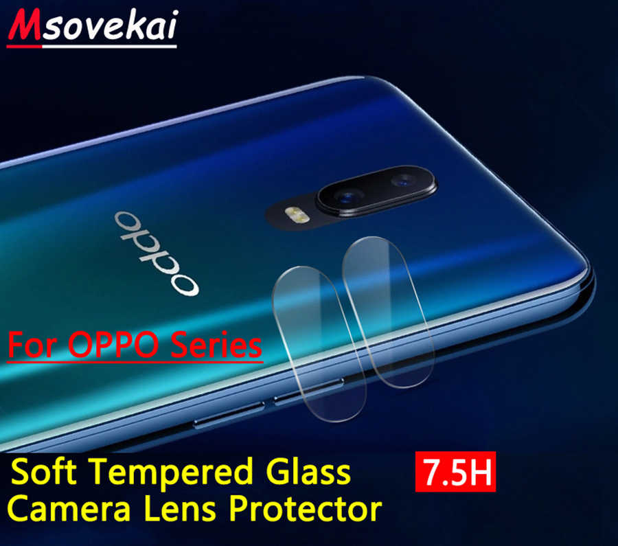 For OPPO R17 Pro R15 Pro R11s R9s Plus F9 Pro Plus A3s F5 F7 Youth A3 A73 Back Camera Lens Tempered Glass Screen Protector Film