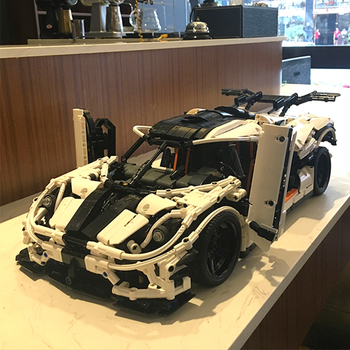 In Stock 23002 Technic Series 3236pcs MOC-4789 Changing Racing Car Set Children Building Blocks Bricks Kid Toys 42056