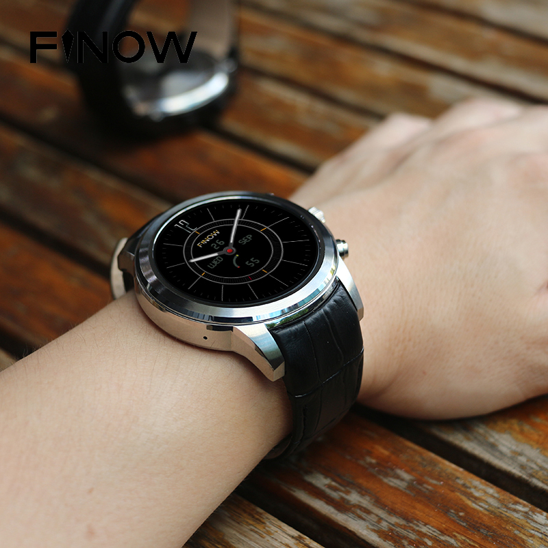 Finow X5 Air Android montre intelligente hommes Android 5.1 MTK6580 Ram 2 GB/Rom 16 GB 3G reloj inteligente montre BT Phonewatch pour cadeau