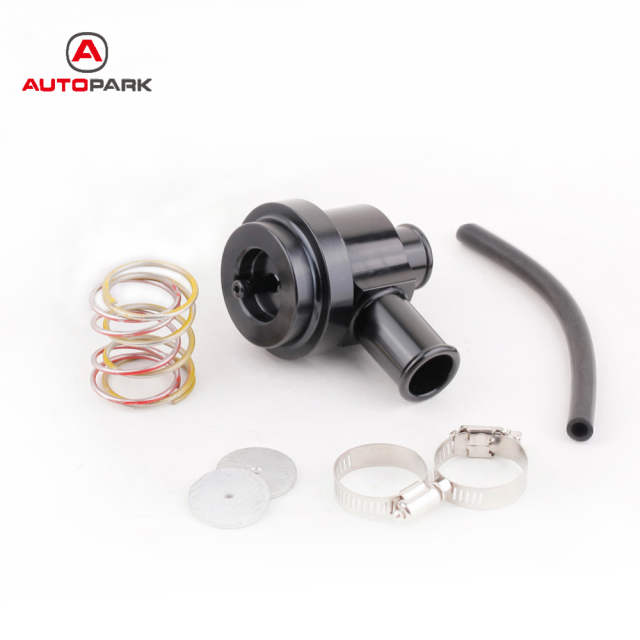 Black Aluminum Bypass Diverter Valve for Turbo Saab for Audi for VW Turbo  Pressure Release Valve Car Turbo Modified Accessories