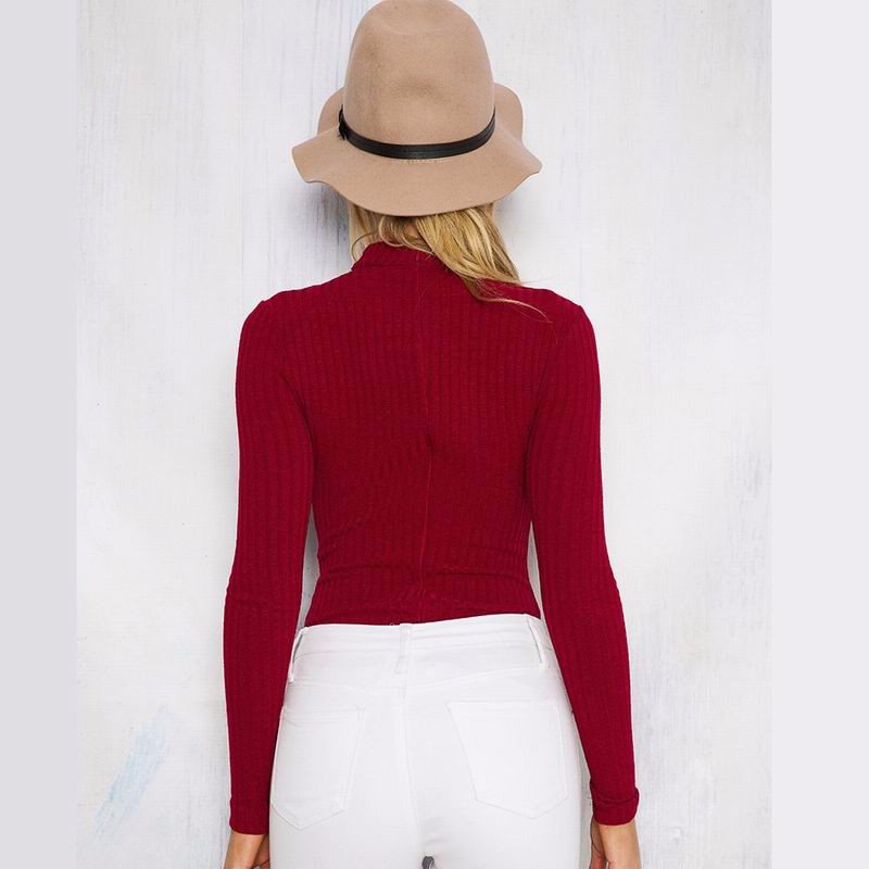 date red women bodysuit 3