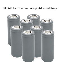 4pcs/set 32650 6000mah 3.2V battery LiFePO4  33A 55A rechargeable with flat top