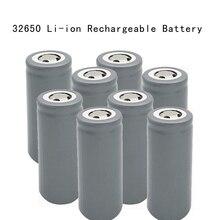 цена на 4pcs/set 32650 6000mah 3.2V battery LiFePO4  33A 55A  rechargeable battery with flat top 32650