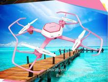 2017 HuaJun nouveau rc drone W606-6 2.4G 4CH 6 Axes RC Hélicoptère une clé tenue d'assiette sans tête mode ajouter HD caméra ennemi enfants cadeau