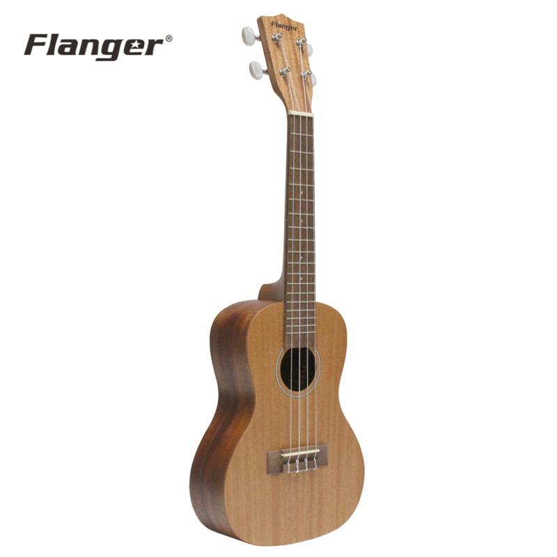 Flanger 23 pouces FU-70C Soprano ukulélé Uke Hawaii guitare acoustique 4 cordes Instrument de musique avec sac de rangement cadeau débutants