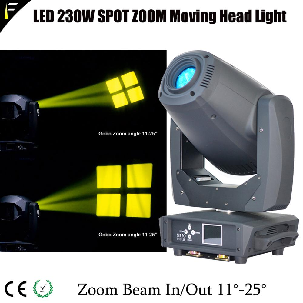 Straight Line 5-Prism Gobo Spot Moving Head Light LED 230w 11~20 Degree Zoom Spot Moving Beam Light for Bar Club Small StageStraight Line 5-Prism Gobo Spot Moving Head Light LED 230w 11~20 Degree Zoom Spot Moving Beam Light for Bar Club Small Stage