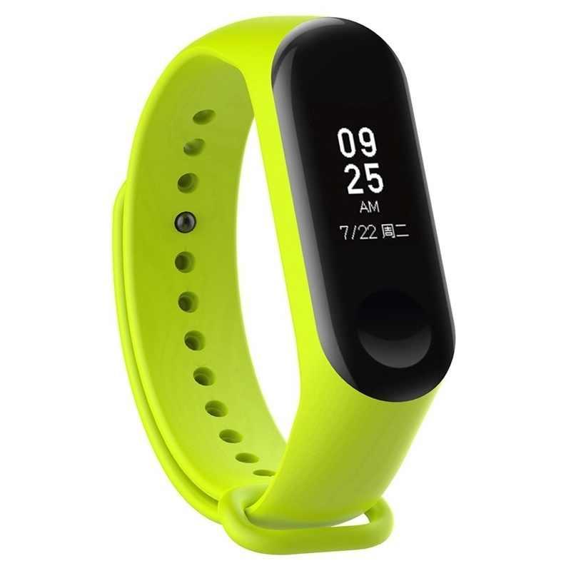 Dragonne pour Xiaomi Mi Band 3 Mi band 3 2 4 1 Bracelet de montre Sport Bracelet Silicone accessoires pulseira desporto correa versa