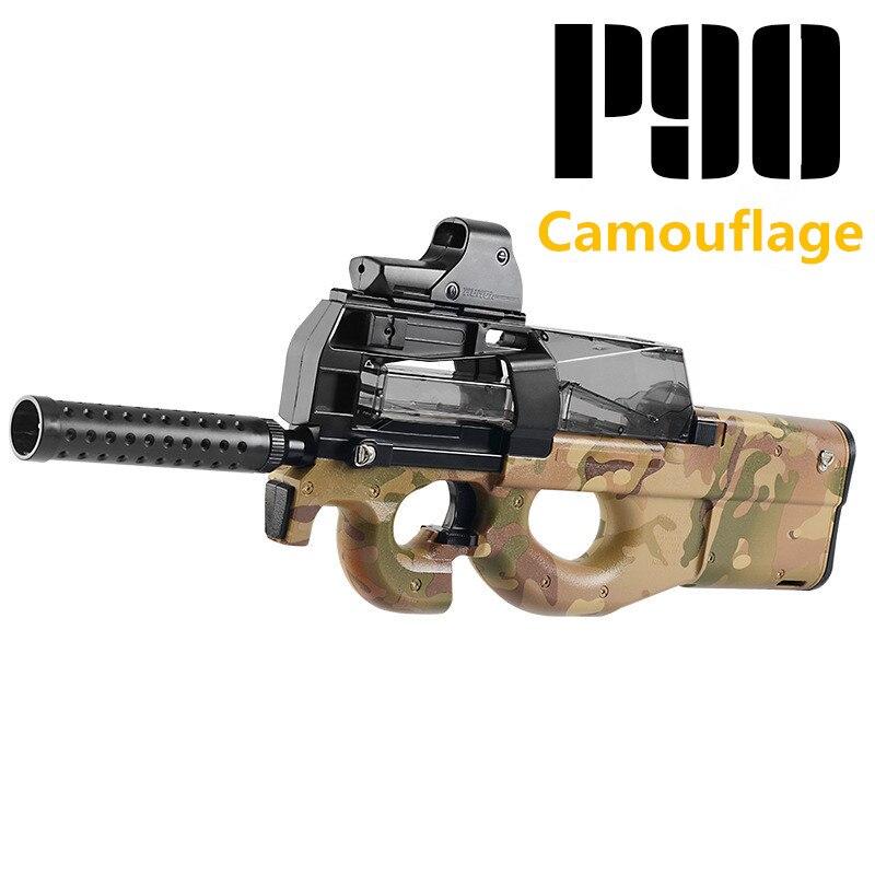 P90 jouet électrique PISTOLET balle en eau Éclate Pistolet Graffiti Édition CS Live D'assaut Snipe Arme En Plein Air Pistolet Jouets lepin - 3