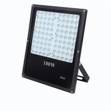10X DHL LED FloodLight 100W 150W 200W Reflector LED Flood Light Waterproof IP68 Spotlight Wall Outdoor Lighting Warm Cold White(China)