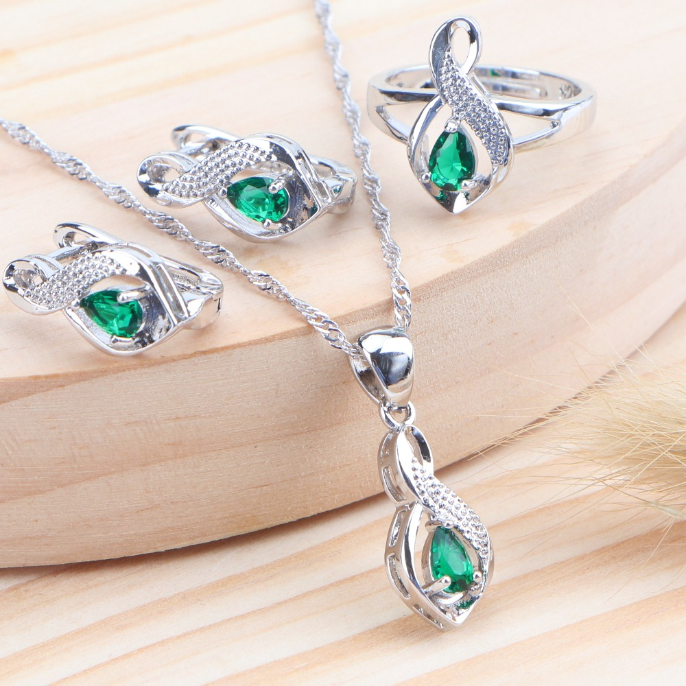 Silver 925 wedding necklace