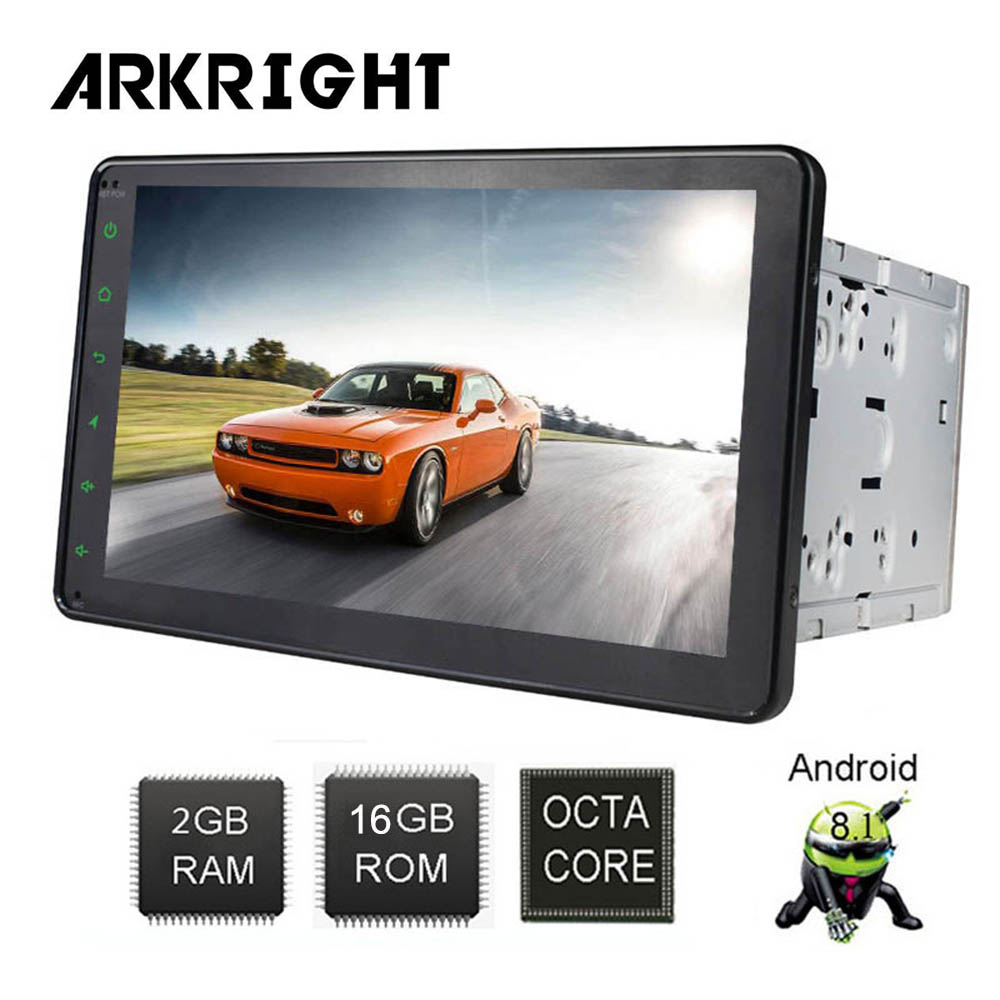 ARKRIGHT 8 2din car radio gps Android 8 1 Universal Car Multimedia Player Octa Core 2