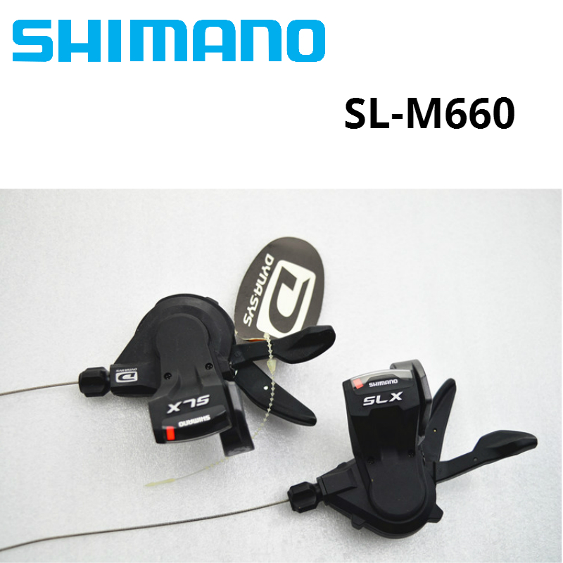 Shimano SLX M660 3x10 30 speed BIKE Shift Lever MTB mountain bicycle Trail 30s Derailleurs senior than Deore m590 m610 m615Shimano SLX M660 3x10 30 speed BIKE Shift Lever MTB mountain bicycle Trail 30s Derailleurs senior than Deore m590 m610 m615