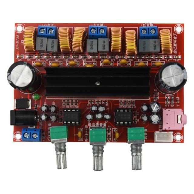 Practical-Amplifier Board TPA3116D2 50Wx2+100W 2.1 Channel Digital Subwoofer Power 12~24V