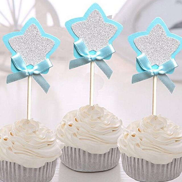 Shining Star Bow Tie Wedding Birthday Cake Decorating Tools