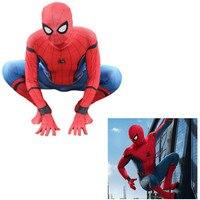 3D Print Spider Man Homecoming Spandex Zentai Costume Civil War Spiderman Costumes Spidey Cosplay Custom Movies