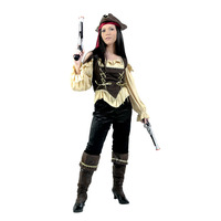Bayi Hot Female Pirate Costume Halloween Costume Adult Children Cosplay Costume For Carnival Party Top Quality