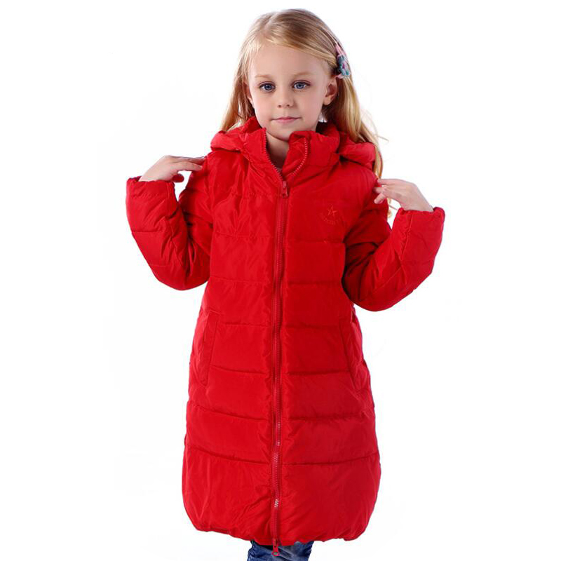 Children Outerwear Girls Clothes Winter 3 10 Years Warm Proof Wind Water and Snow Outdoor sports clothing for girls Coats