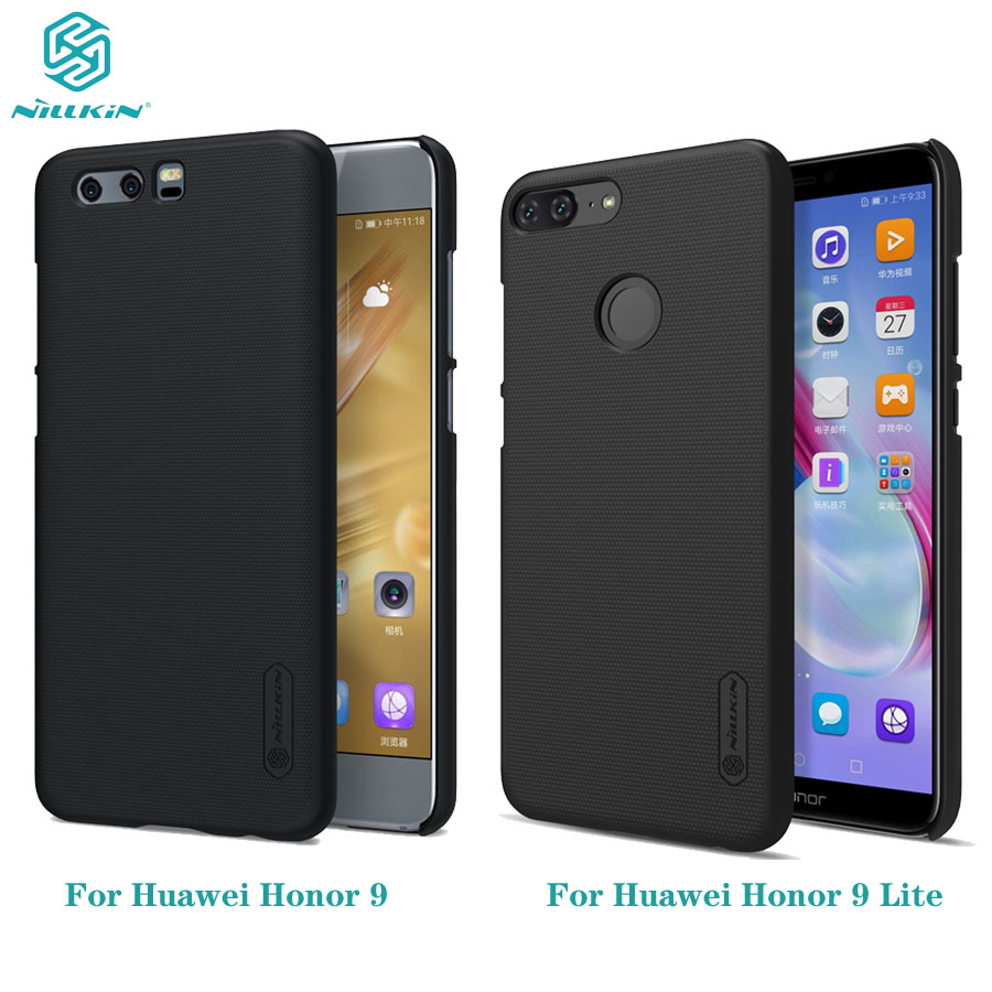 For Huawei <font><b>Honor</b></font> <font><b>9</b></font> Case <font><b>Nillkin</b></font> Super Frosted Shield Hard PC Back Cover Protector Black Phone Case For Huawei <font><b>Honor</b></font> <font><b>9</b></font> <font><b>Lite</b></font> Cover image