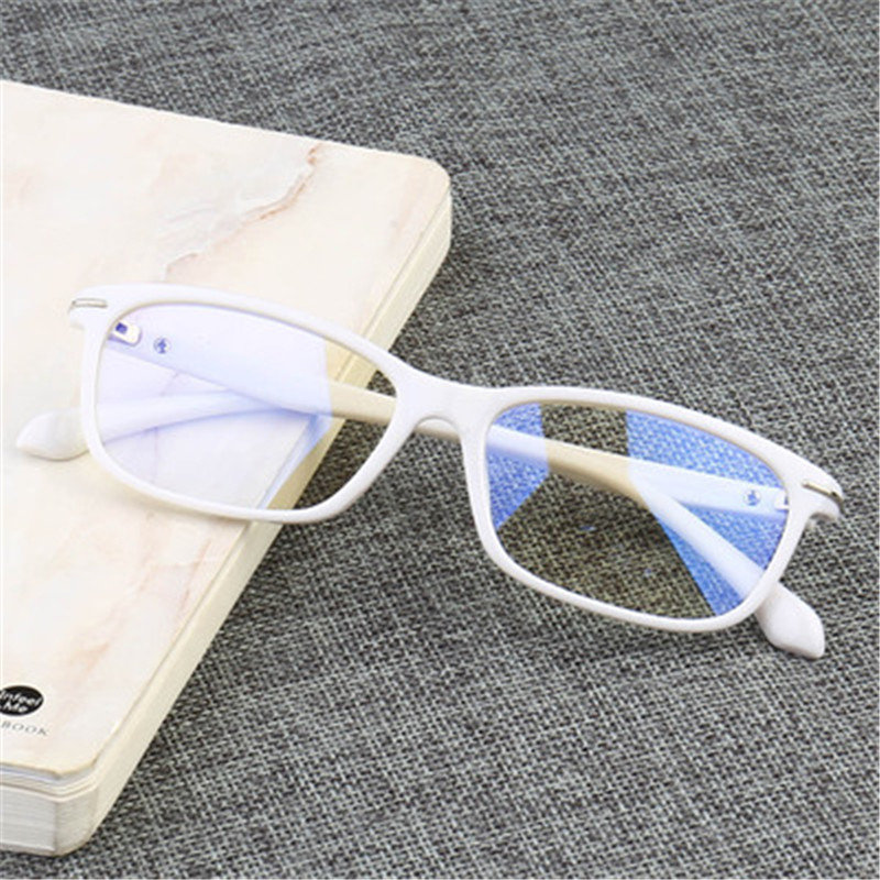 Anti-blue Light Eye Glasses Computer Radiation Protection Fatigue Resistance Square Eyeglasses Men Women Optical Glasses Frames