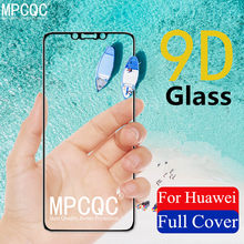 9D Full Protective Screen Glass On The For Huawei P30 Mate 20 Honor 8X 10 9 Lite Tempered Glass Mate 20 P20 Pro Protector Film(China)