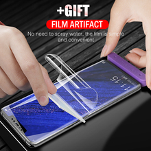 9D Full Cover Soft Hydrogel Film For Huawei Mate 20 P30 P20 Pro Lite Screen Protector Honor 9X 8X 10 Not Glass
