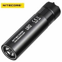 Original NITECORE LR12 Led Flashlight 2 in 1 Design CREE XP L HD V6 1000 lumen by 18650 Battery for Camping