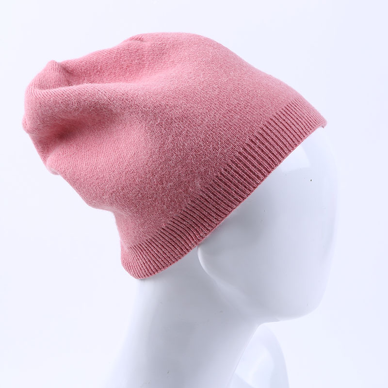 027ee64f8 Women Winter Soft Cashmere Wool Beanies Casual Skullies Solid Color Girl  Female Comfortable Elastic Hats High Quality Hoodies Beanies From Gunot, ...