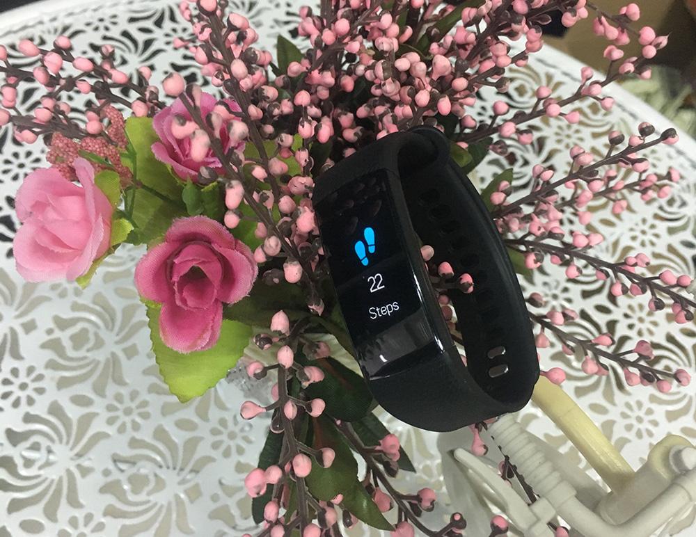 LEMFO Smart Watch Fitness Bracelet Heart Rate Monitor IP67 Waterproof Color  Screen Sport Tracker Watch PK Mi Band 2 3