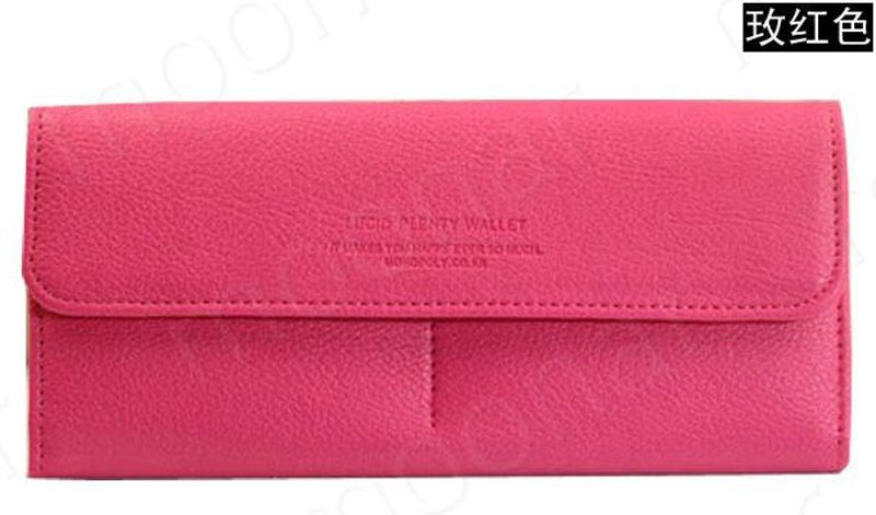 B489 women leather wallet purse (13)