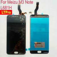 5 5 High Quality Tested Touch Screen Digitizer LCD Display Assembly For Meizu M3 Note L681H