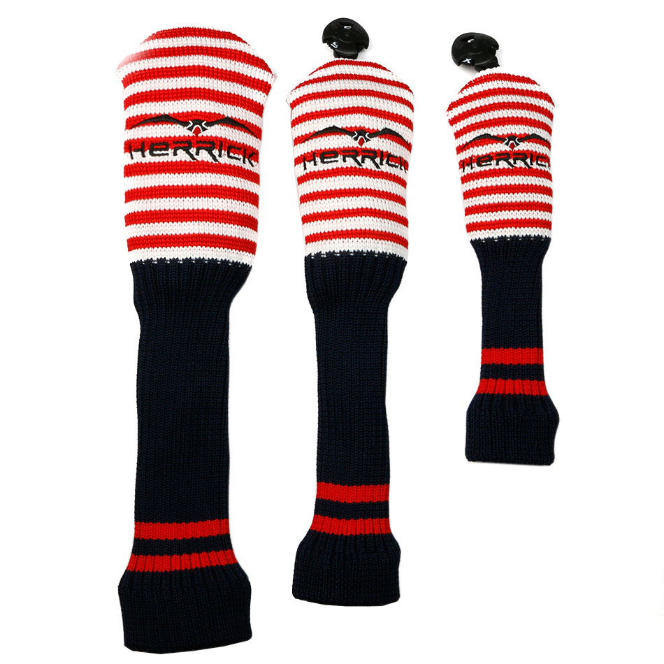3pcs/set Wool Knit Golf Clubs Set Fairway