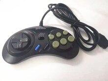 2 pcs Botão Gamepad Controlador de Jogo para SEGA Genesis 6 para SEGA Mega Drive Modo Rápido Lento do que o Normal Turbo Livre grátis