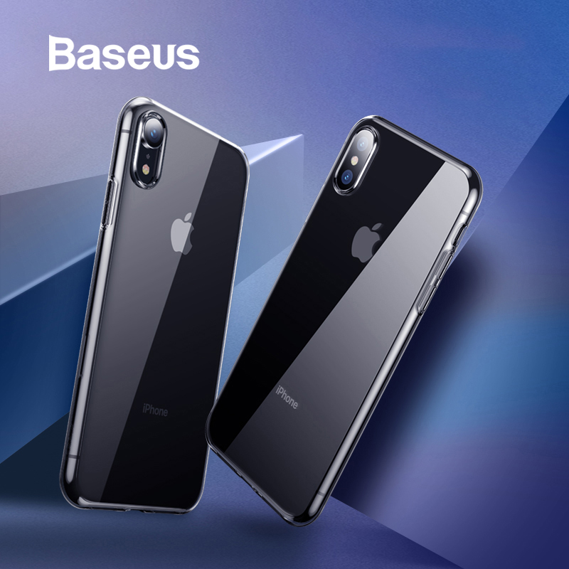 online store 2f3d1 56dd9 US $2.84 24% OFF Baseus Ultra Thin Transparent Case For iPhone Xs Xs Max XR  2018 Luxury Soft Silicone Back Cover For iPhone Xs Xs Max Case-in Fitted ...