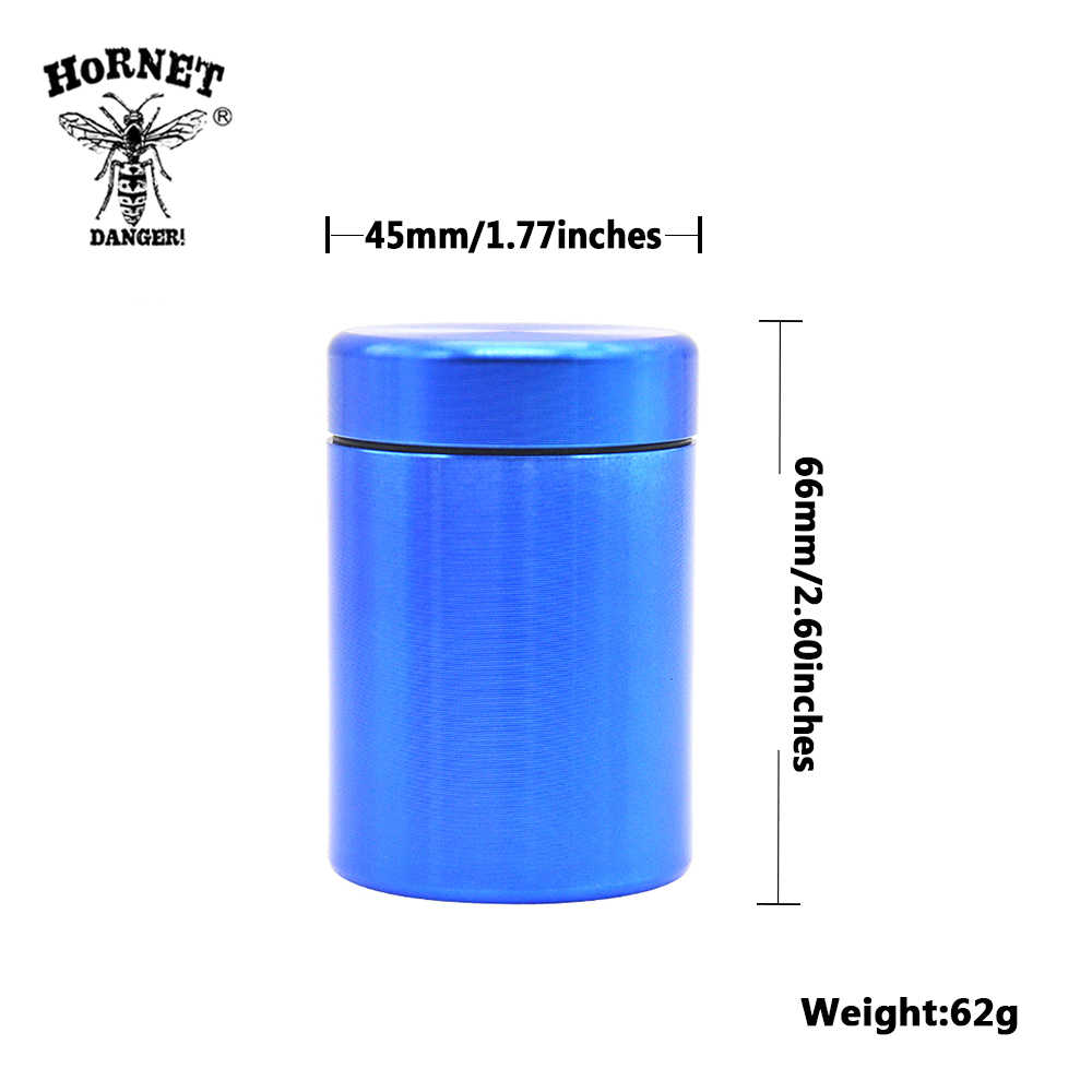 Pill Box Water Proof Airtight Aluminum Drug Case Bottle Holder Container  Bottle Storage