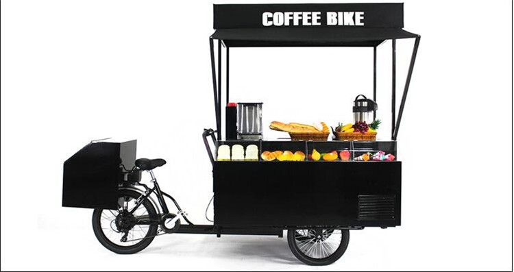 Electric Coffee Bike 3 Wheel Barbecue Bike For Sale In Food