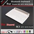 Portable Wireless Bluetooth keyboard For Huawei M3 (BTV-W09/DL09), Ultra-thin ABS keyboard For Huawei M3 (BTV-W09/DL09) 8.4 inch