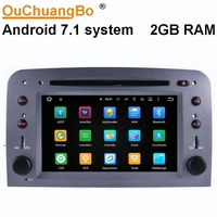 Ouchuangbo 2G Ram Andriod 7.1 car audio radio stereo gps for Alfa Romeo 147 GT support 3G WIFI RDS DVD